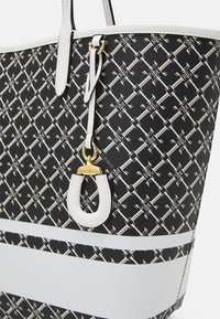 Lauren Ralph Lauren - COLLINS TOTE MEDIUM - Tote bag - black/snow white - 3