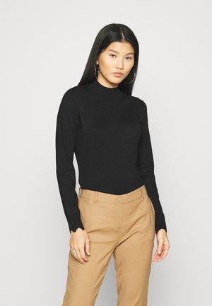 SCALLOP DETAIL JUMPER - Svetr - black