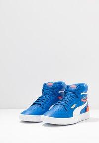 Puma - RALPH SAMPSON - Sneakers hoog - palace blue/lava blast/white - 2