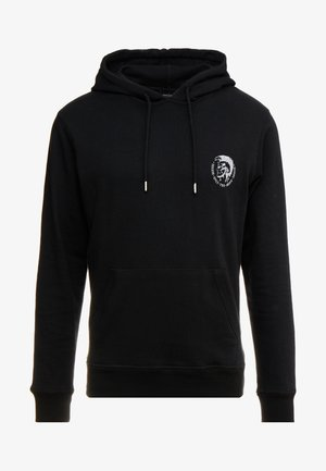 BRANDON - Sweat à capuche - black