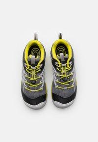 Keen - CHANDLER CNX UNISEX - Hiking shoes - steel grey/evening primrose - 3