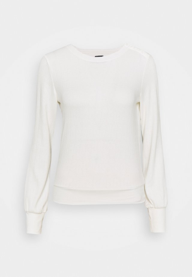 POINTELLE  - Long sleeved top - milk