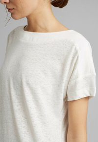 Esprit - Basic T-shirt - off white - 3