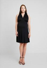 Envie de Fraise - FANTASTIC DRESS - Sukienka koktajlowa - black - 0