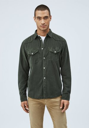 CANYON CORD - Shirt - waldgrün