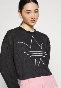 adidas Originals - Sweatshirt - black melange - 4