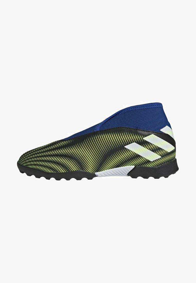 adidas Performance - NEMEZIZ.3 LACELESS TF FUSSBALLSCHUH - Astro turf trainers - black
