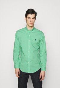 Polo Ralph Lauren - NATURAL - Shirt - green/white - 0