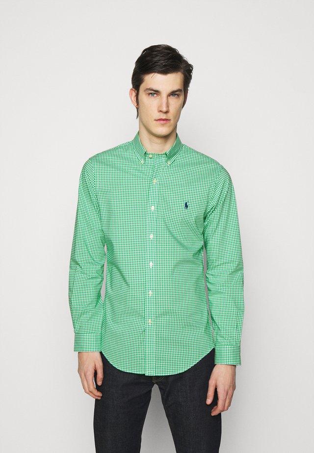 NATURAL - Shirt - green/white