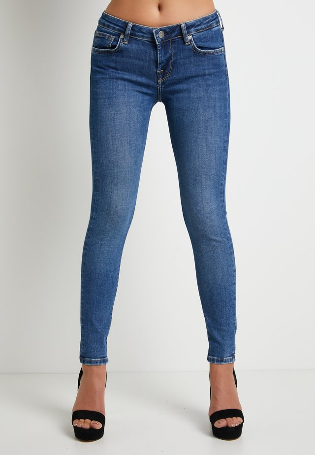 DUA LIPA X PEPE JEANS - Jeansy Skinny Fit - blue