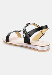 PRIMA MODA - BANNE - Wedge sandals - black - 2