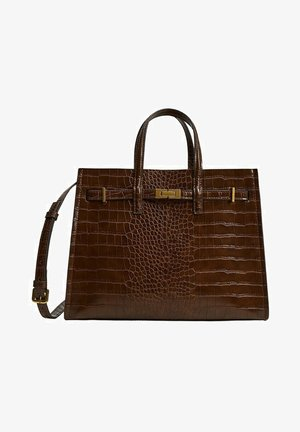 Handbag - marron