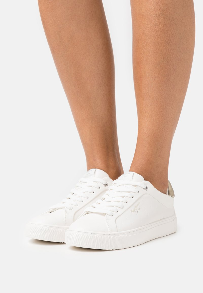 Pepe Jeans - ADAMS - Sneakers basse - offwhite