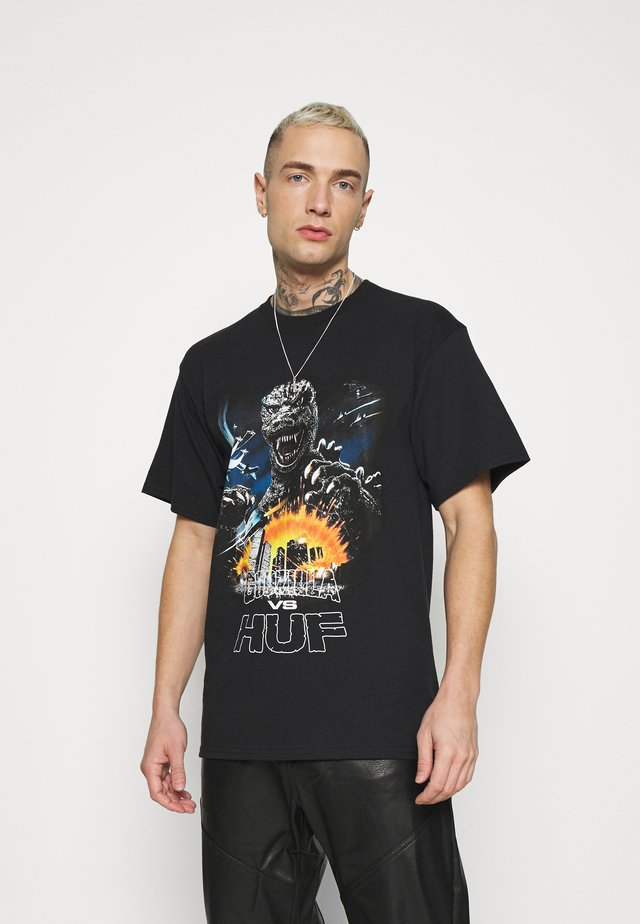 GODZILLA TOUR TEE - T-shirt imprimé - black