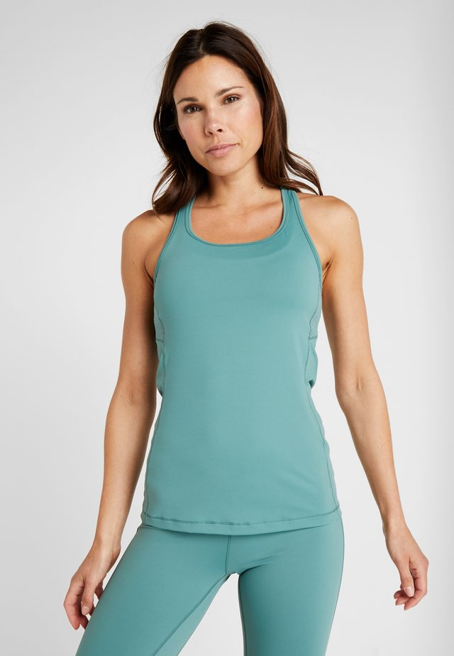 SYNERGY RACERBACK - Top - streaming green