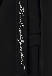 KARL LAGERFELD - TAILORED - Short coat - black - 2
