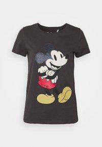 ONLY - ONLDISNEY LIFE MOUSE GLITTER  - Print T-shirt - phantom - 4
