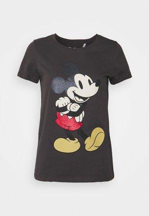 ONLDISNEY LIFE MOUSE GLITTER  - T-shirt con stampa - phantom