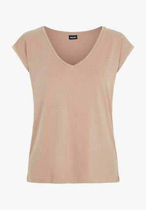 Basic T-shirt - natural