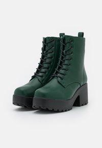 Koi Footwear - VEGAN GIN - Platform ankle boots - khaki - 2
