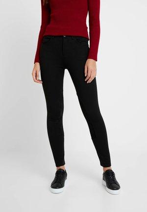 RIDER PANTS - Spodnie materiałowe - black