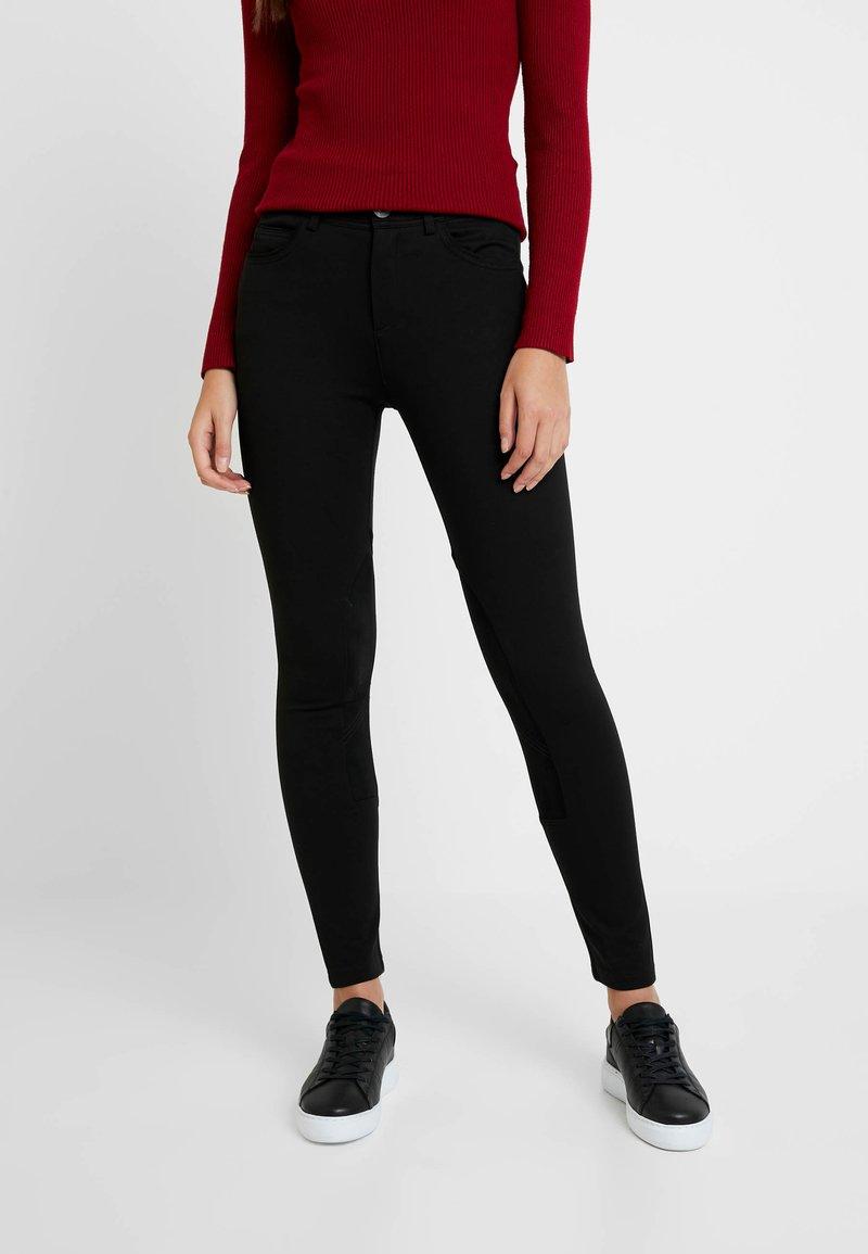 Benetton - RIDER PANTS - Trousers - black