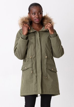 KELLYANNE - Down coat - ltgreen
