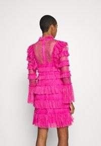 By Malina - DRESS - Vestito elegante - cerise - 2
