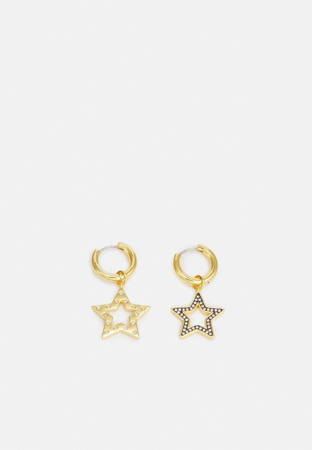 STAR MIS-MATCH HUGGIE EARRING - Earrings - gold-coloured