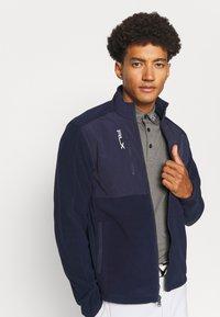 Polo Ralph Lauren Golf - LONG SLEEVE FULL ZIP - Fleece jacket - french navy - 3