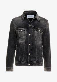 Calvin Klein Jeans - FOUNDATION SLIMJACKET - Cowboyjakker - grey - 5