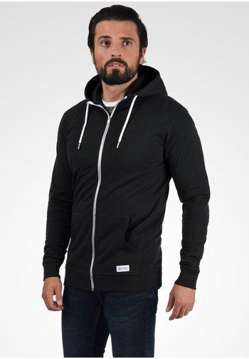 TAMBO - Zip-up sweatshirt - black