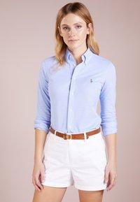Polo Ralph Lauren - HEIDI LONG SLEEVE - Camisa - harbor island blue - 0
