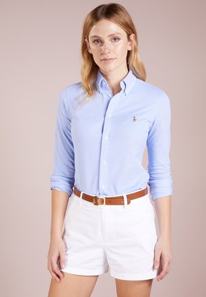 HEIDI LONG SLEEVE - Button-down blouse - harbor island blue