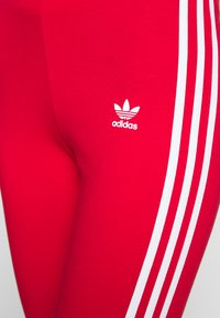 adidas Originals - Leggings - Trousers - scarlet - 4