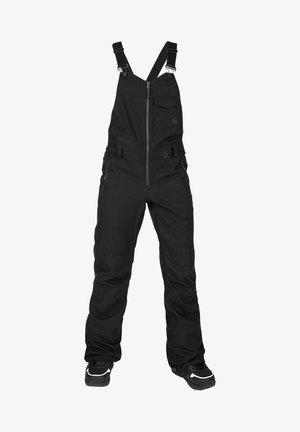 SWIFT BIB OVERALL - Pantalon de ski - black