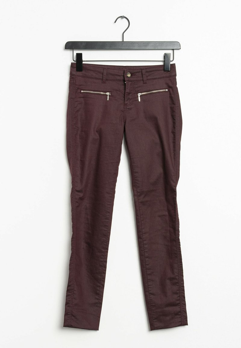s.Oliver BLACK LABEL - Trousers - red