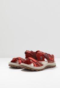 Keen - TERRADORA II  - Walking sandals - dark red/coral - 2