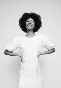 Faithfull the brand - LORICA DRESS - Day dress - plain white - 4