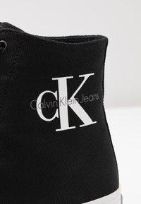 Calvin Klein Jeans - ZABRINA - High-top trainers - black - 2