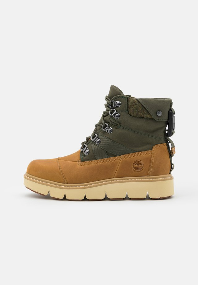 RAYWOOD WP BOOT - Lace-up ankle boots - wheat