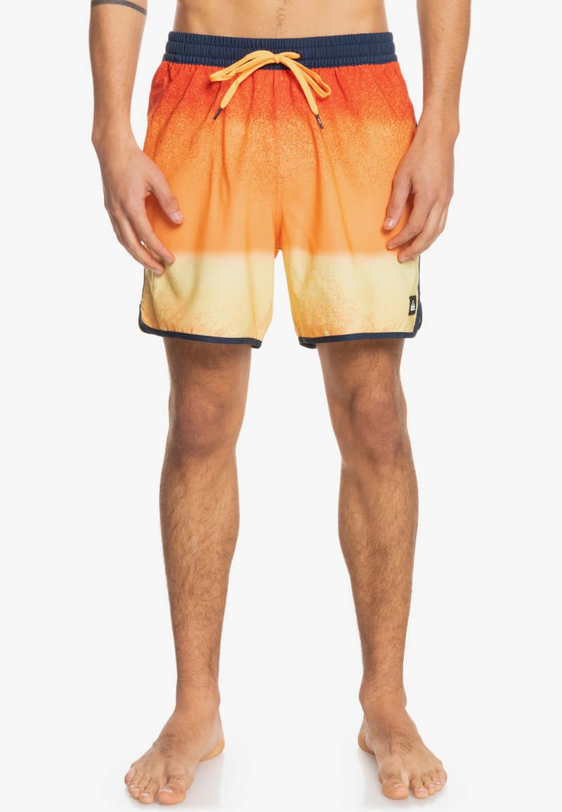 Quiksilver - MASSCAL - Swimming shorts - orange pop