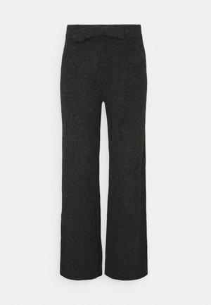 NMSUSIE LOOSE PANTS - Broek - mottled grey