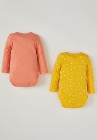 DeFacto - 2PACK - Body - yellow/peach - 1