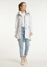 Schmuddelwedda - Zip-up sweatshirt - wollweiss melange - 1