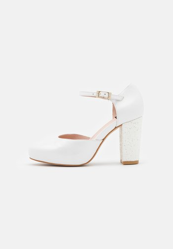 Classic heels - bianco