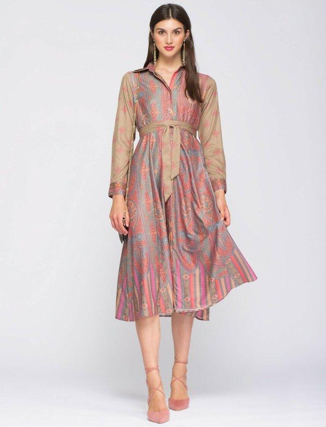 Shirt dress - melocoton