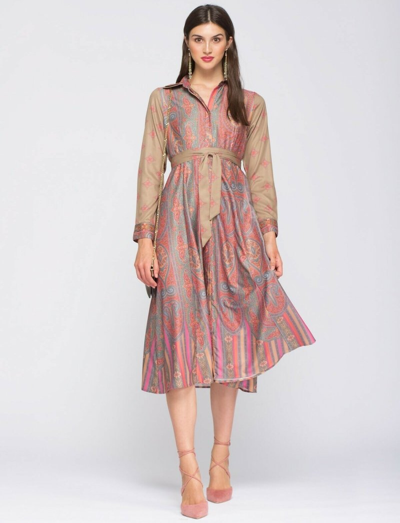 NIZA - Shirt dress - melocoton