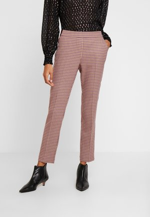 TROUSERS - Kalhoty - red