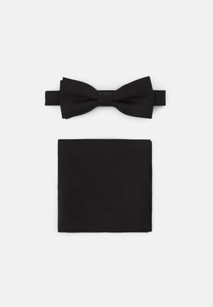 ONSTANNER BOW TIE BOX SET - Ficknäsduk - black